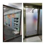 玻璃貼膜-透明霧貼