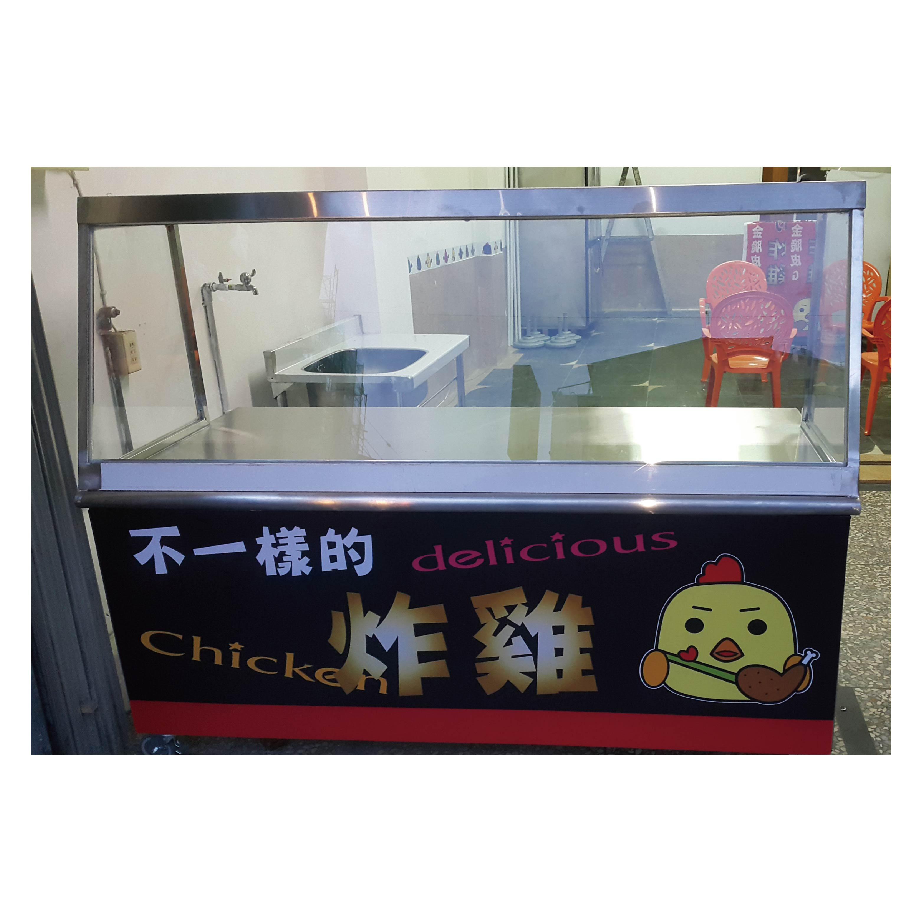 餐車面板更換-力克壓克力廣告